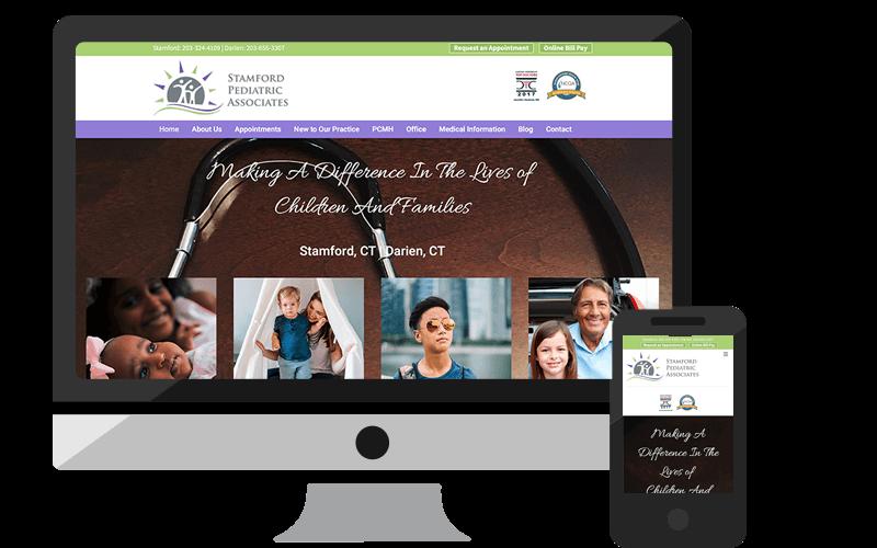 portfolio-stamford-pediatrics-home